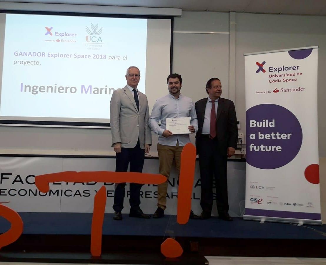 Ingeniero marino Ganador Explorer Space Cádiz
