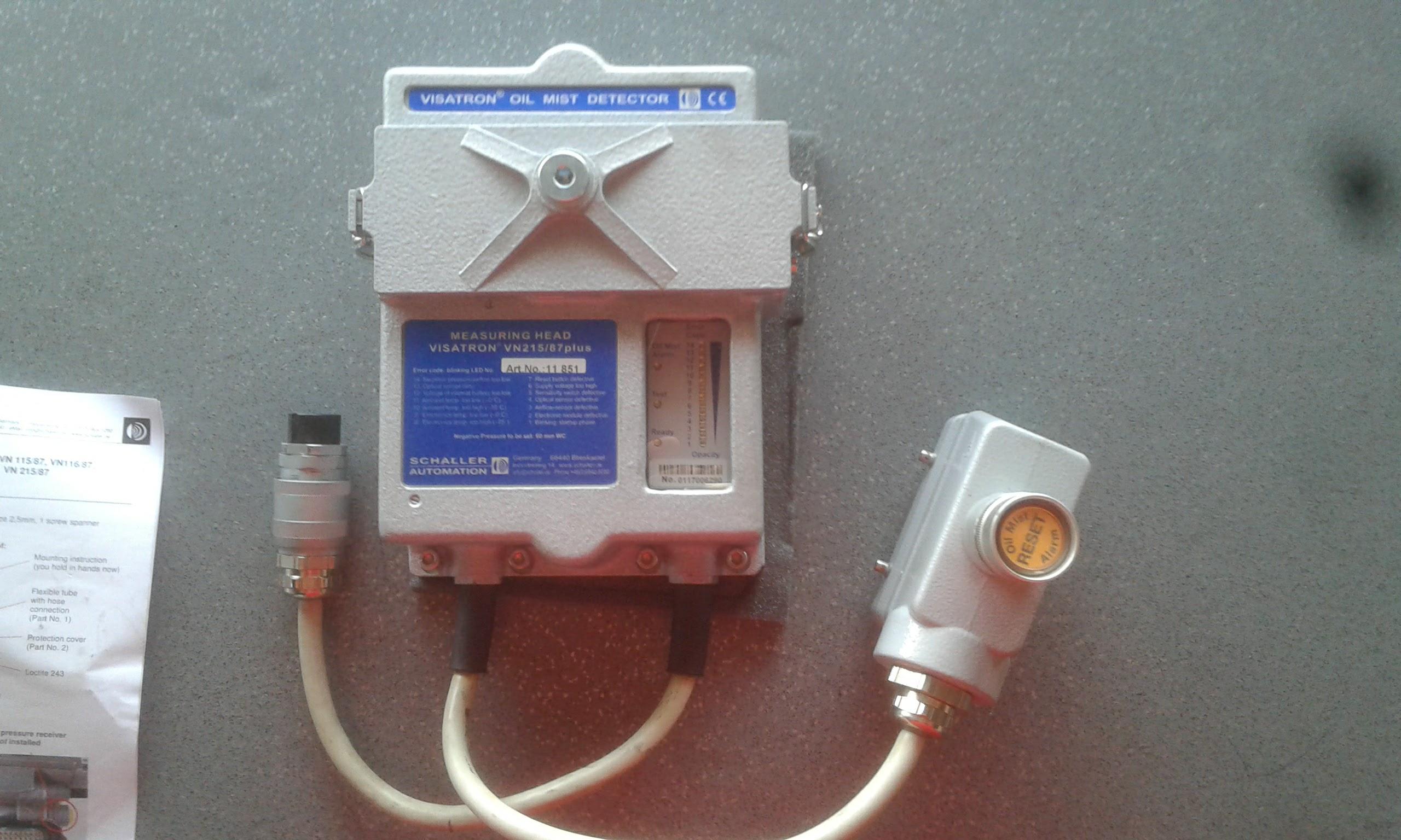 Oil Mist Detector
