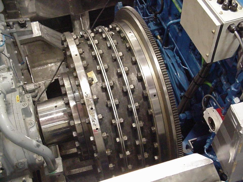 Acoplamiento Vulkan-Rato RUSTON en un HSC Evolution 10.