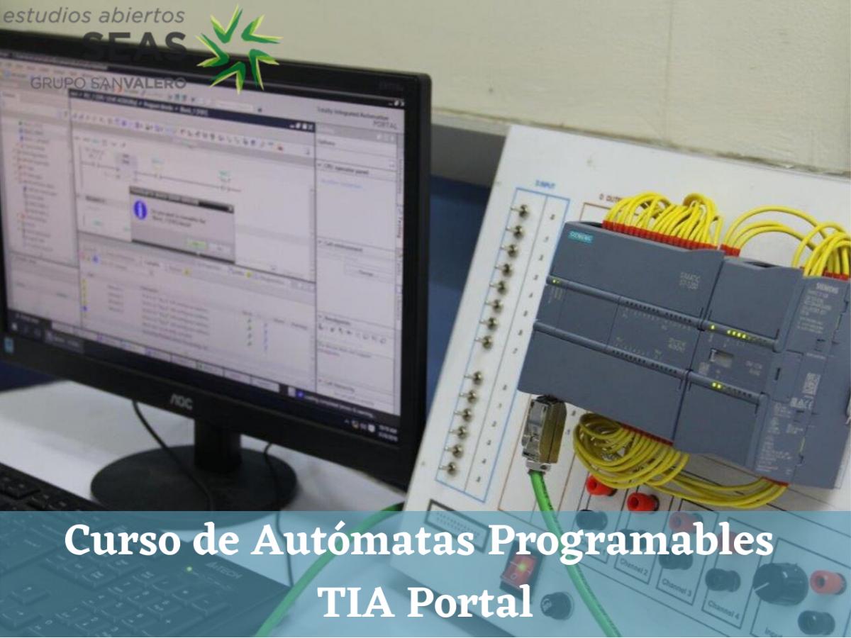 Curso de Autómatas Programables TIA Portal
