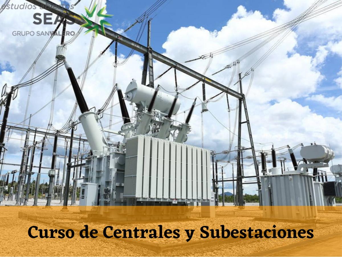Curso de Centrales y Subestaciones