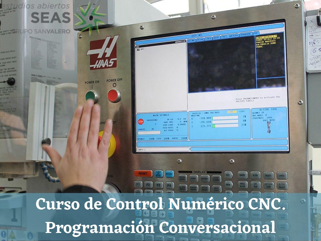 Curso de Control Numérico CNC. Programación Conversacional