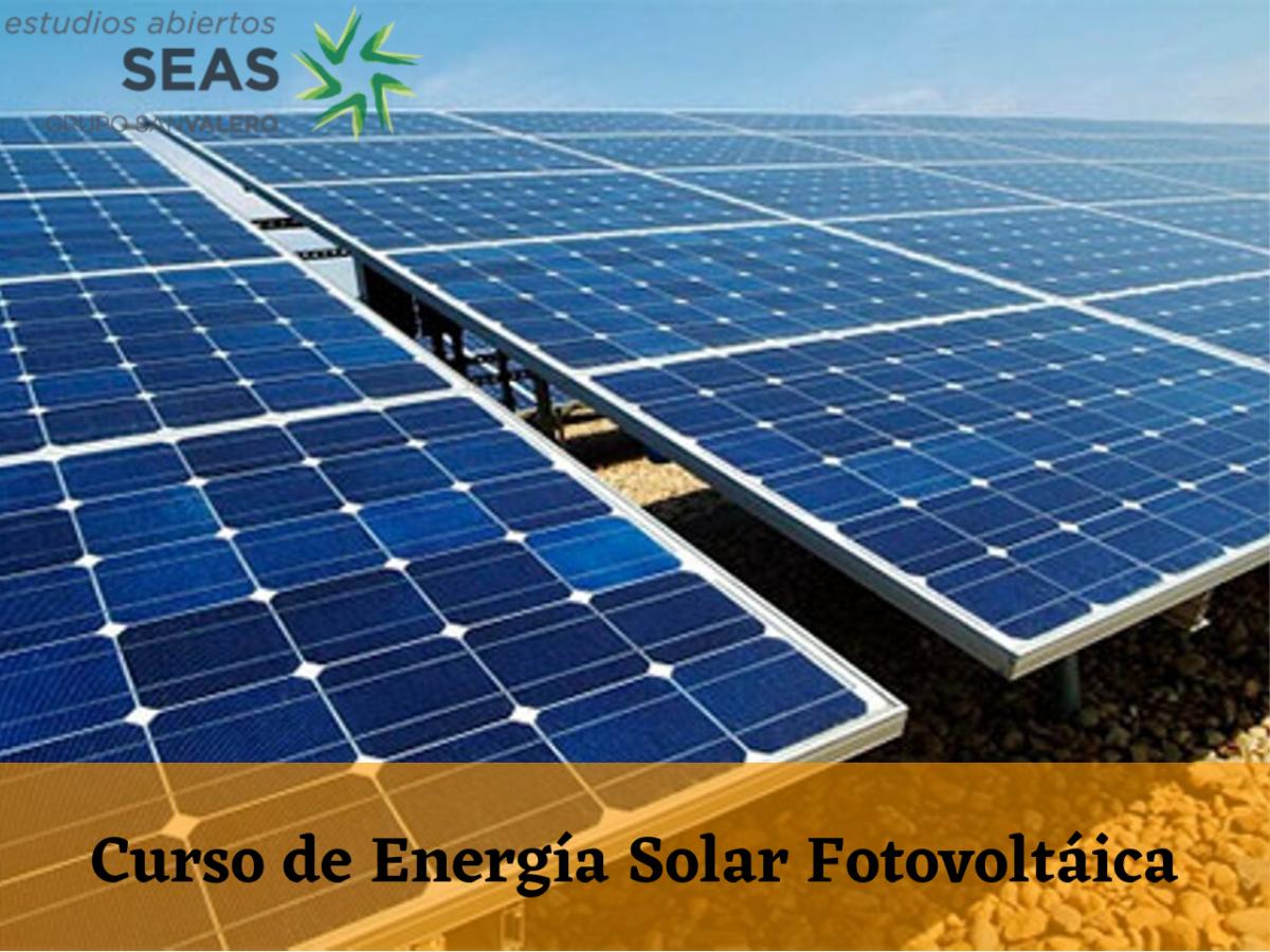 Curso de Energía Solar Fotovoltáica