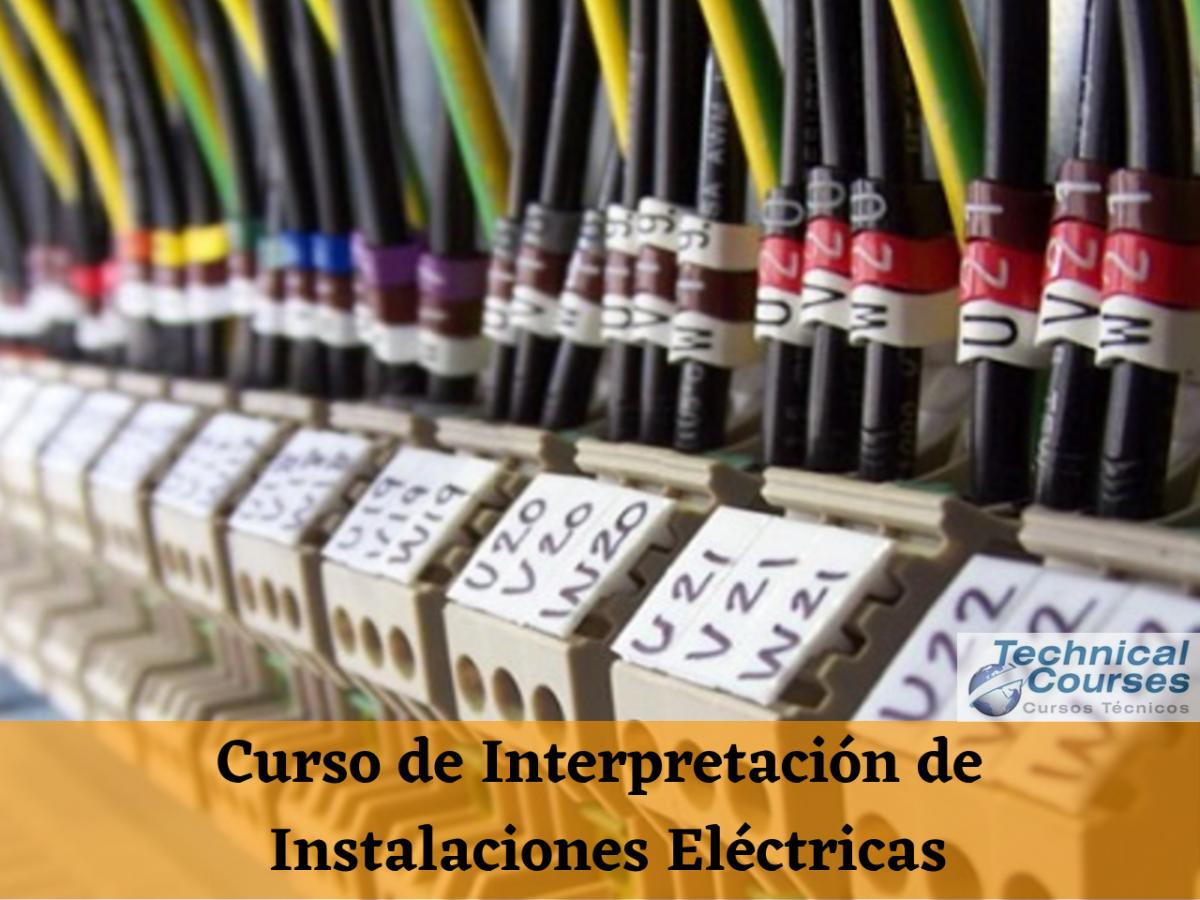 Curso de Interpretación de Instalaciones Eléctricas