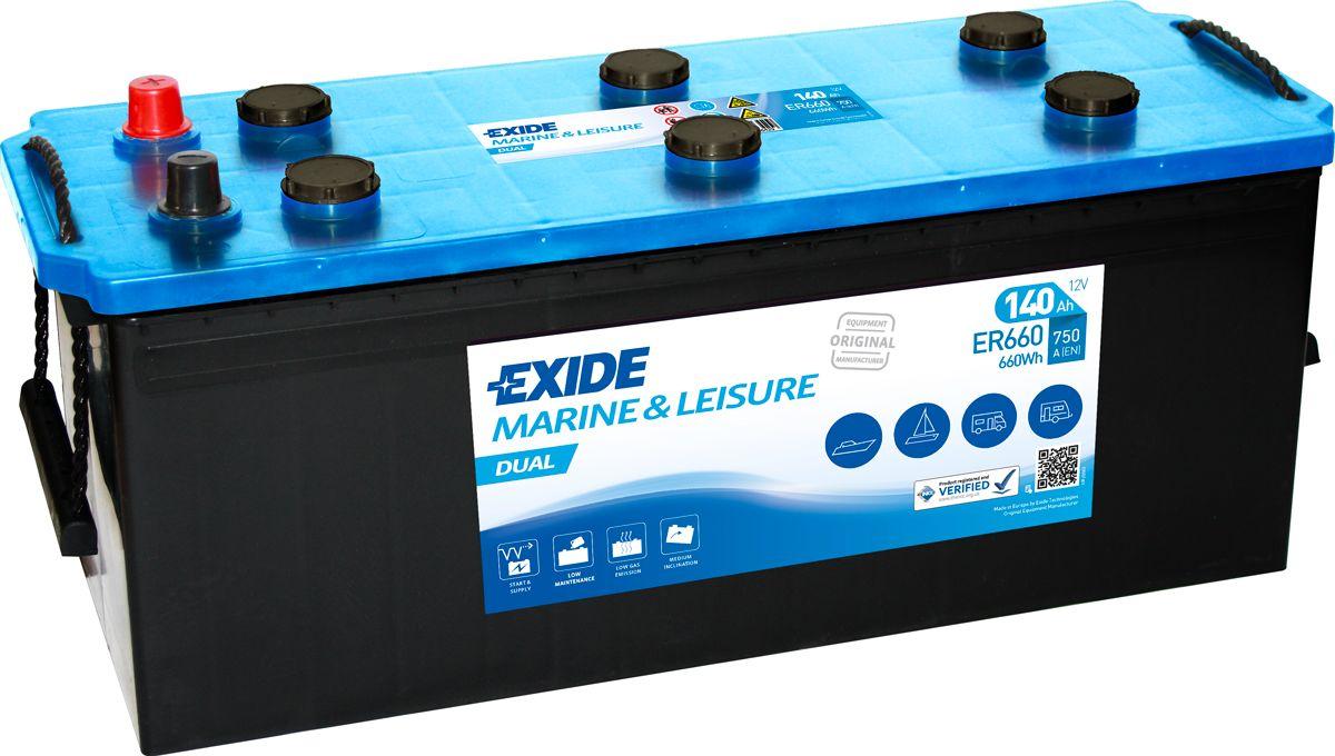 EXIDE Marine Battery