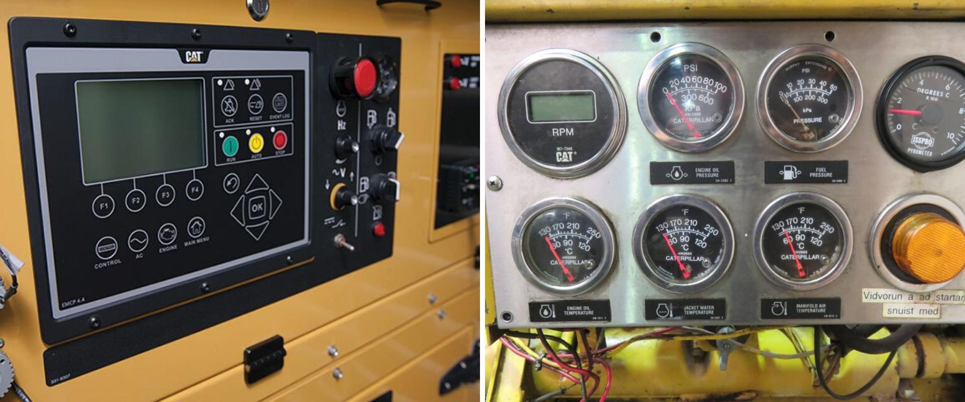 Tableros de control propios de equipos de generación.