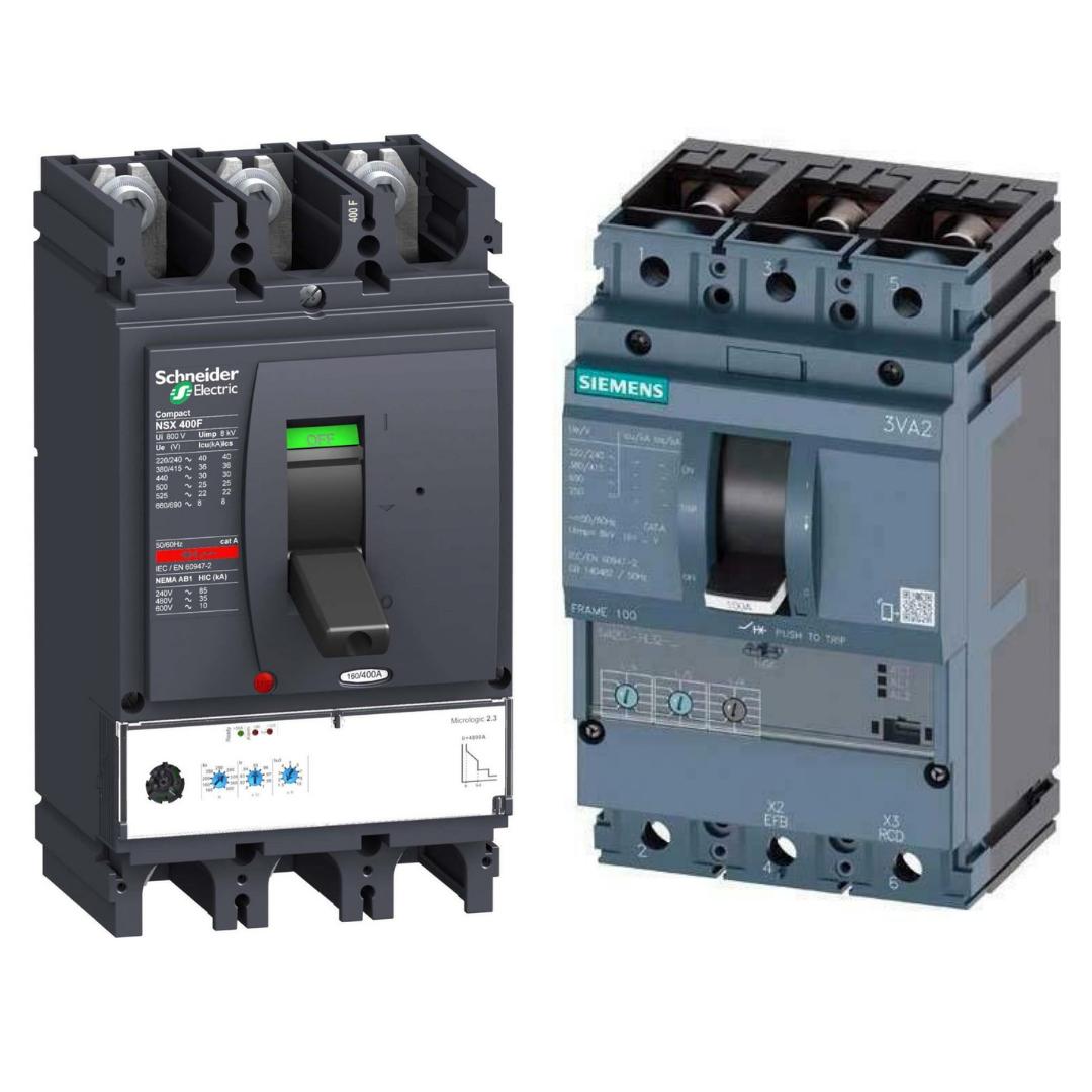 Interruptores automáticos de caja moldeada (MCCB)