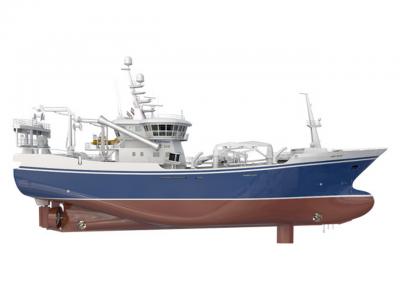 Mantenimiento de un buque de pesca