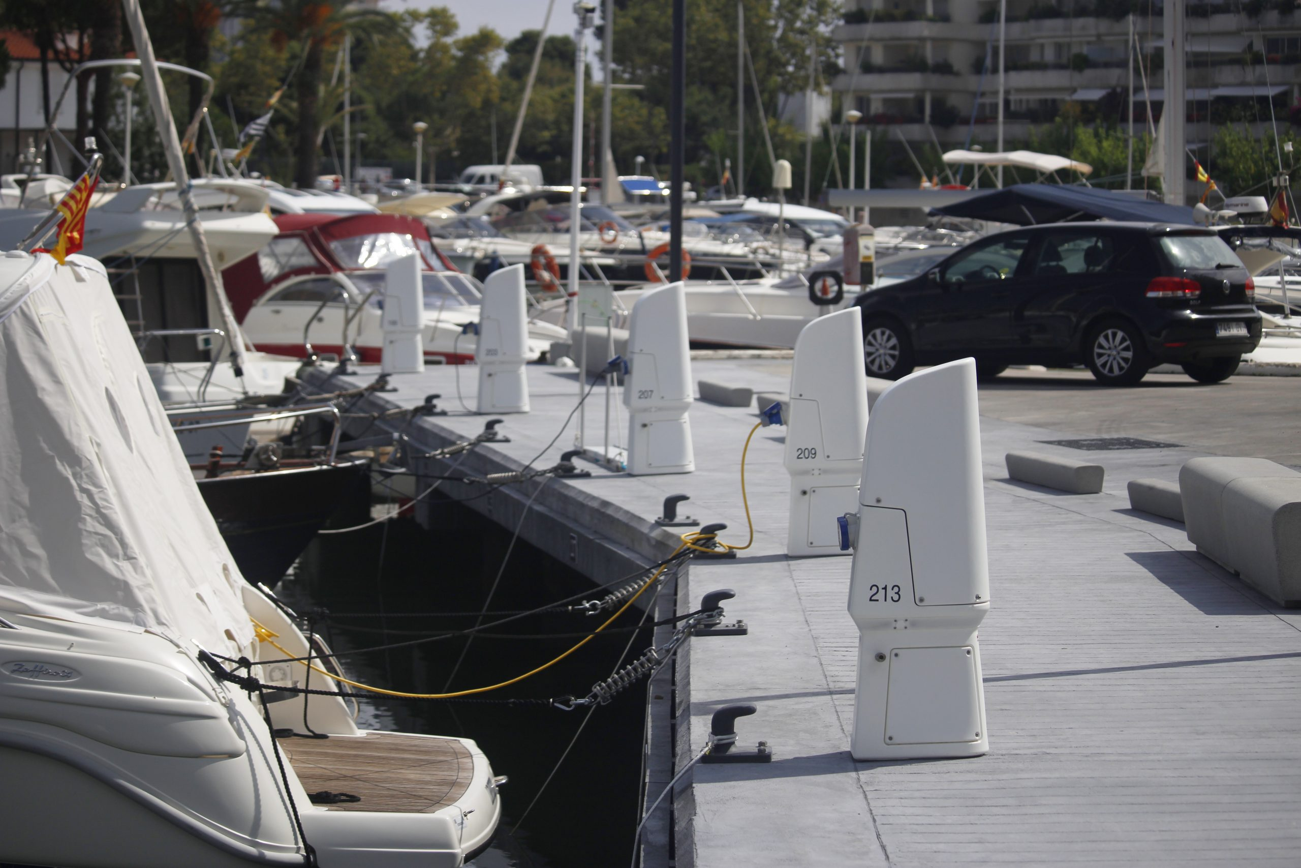 torretas inteligentes náutica de recreo