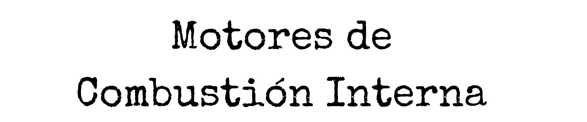 Libros de Motores de Combustión Interna Portada