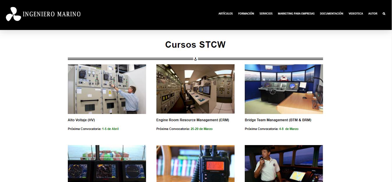 Cursos Marítimos STCW