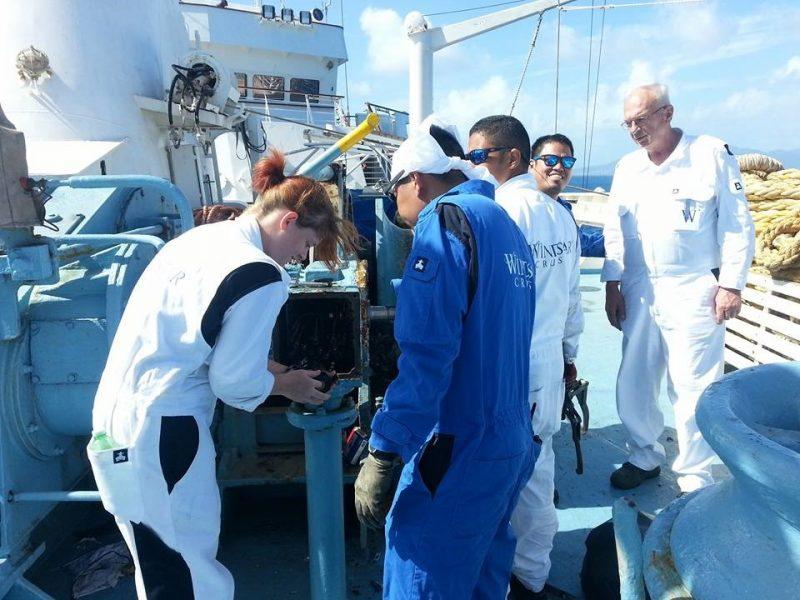 El cuaderno de prácticas de embarque