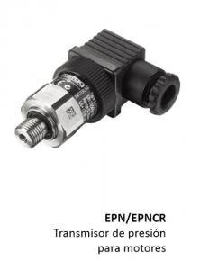 Sensor transmisor de presión para motores