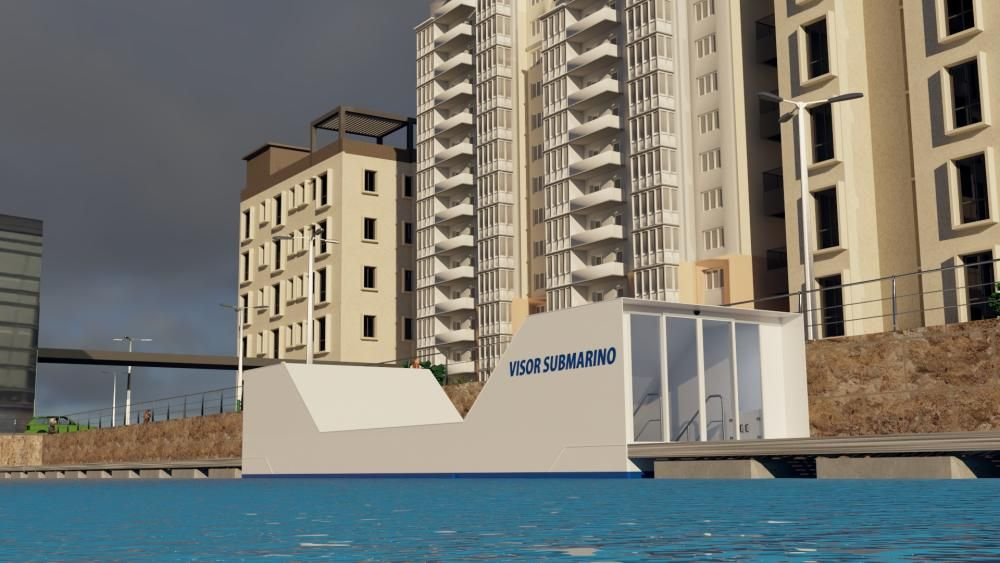 Visor Submarino. Cardama Shipyard