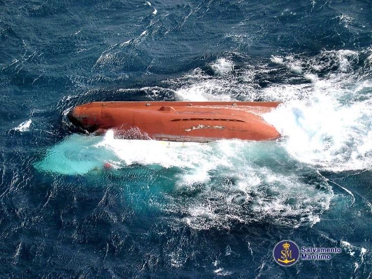 accidente del buque pesquero Nuevo Pepita Aurora