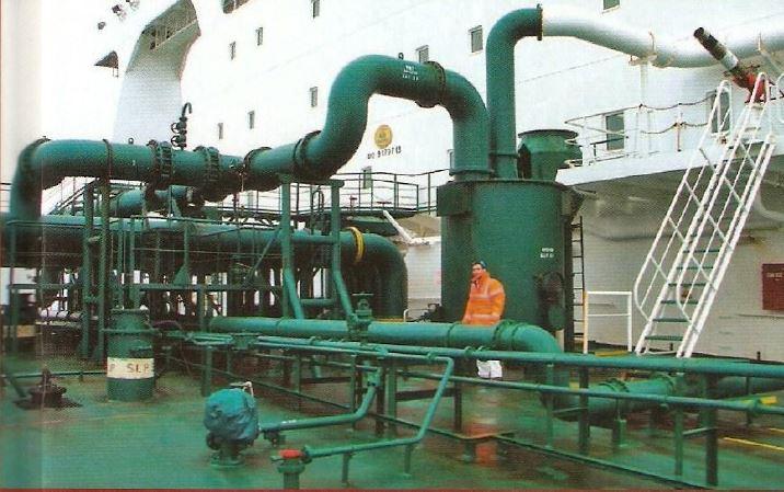 Sistema de Gas inerte a bordo. - Ingeniero Marino