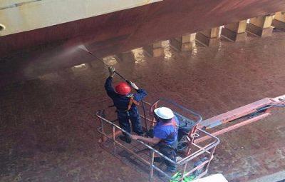 Corrosión y Tratamiento de Superficies.Tratamiento de la obra viva del buque (1º Parte)