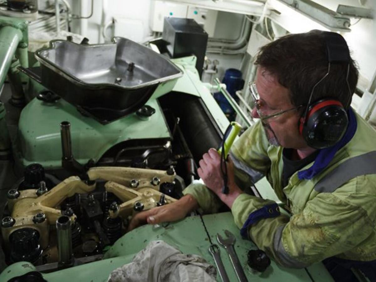 Curso marinero de máquinas