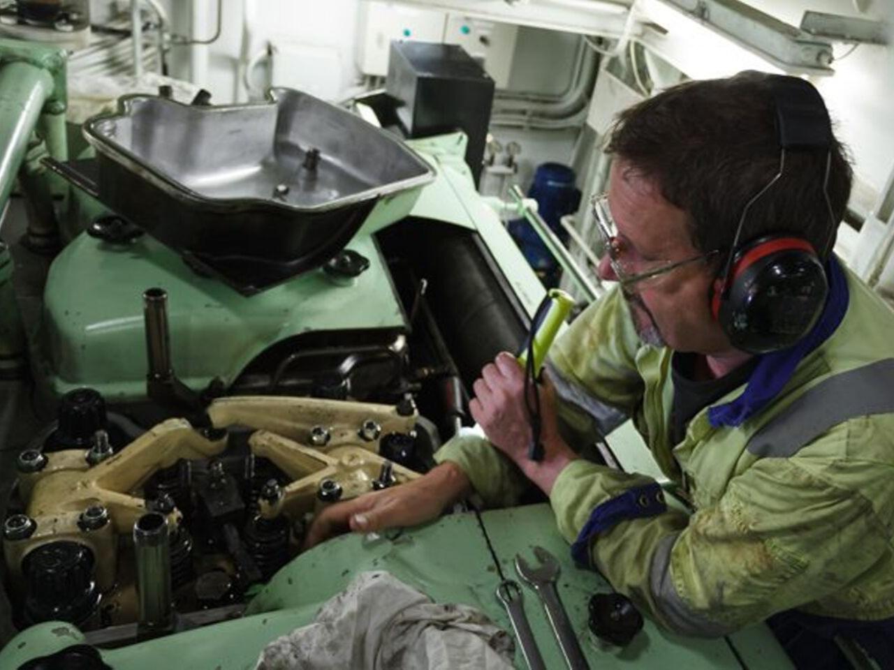 Curso de marinero de máquinas