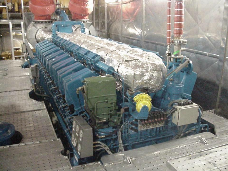 motor RUSTON 20RK270