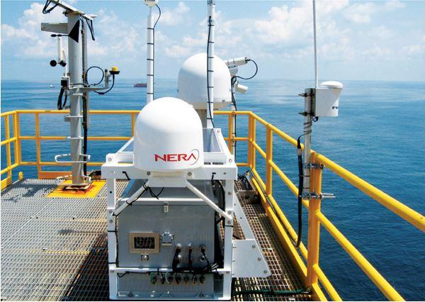 Sistema de monitoreo de integridad a bordo del PDQ, que transmite información a la costa en tiempo real a través de un enlace de fibra óptica o vía satelite.