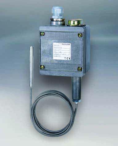 termostato de bulbo y capilar